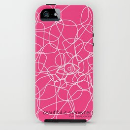 see beauty iPhone Case