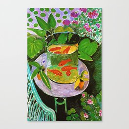 Henri Matisse Goldfish Canvas Print