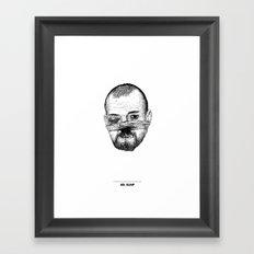 Mr. Bump Framed Art Print