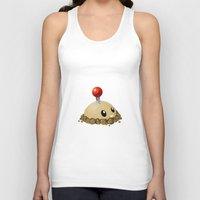 potato Tank Tops featuring Potato Mine by Sharna Myers