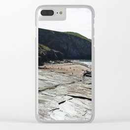 Trebarwith Strand Clear iPhone Case