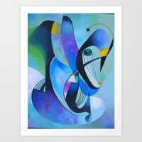 ruben Art Prints featuring ruben 03 by  Alexandra's Collection
