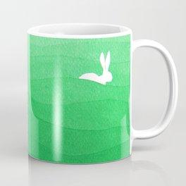 Rabbits meadow Coffee Mug