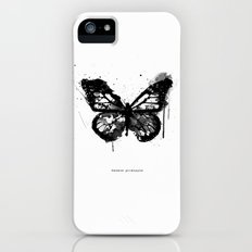 Black Monarch Slim Case iPhone (5, 5s)