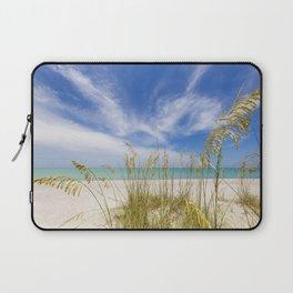 Heavenly calmness on the beach Laptop Sleeve