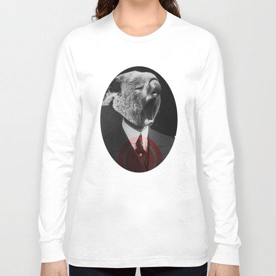 Koala Yawn Long Sleeve T-shirt