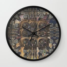 Stepchild of postmasters Wall Clock