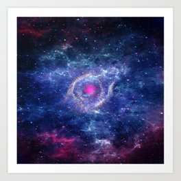 Eye in the Universe Art Print