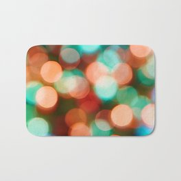 Abstract holiday background Bath Mat