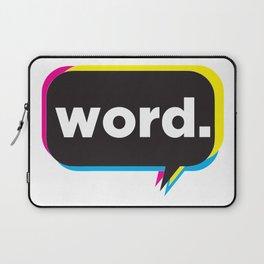 word. Laptop Sleeve