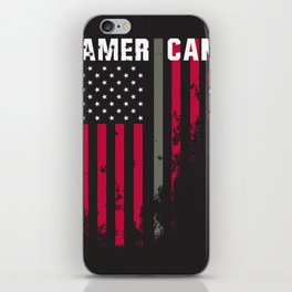 American Military Flag iPhone Skin