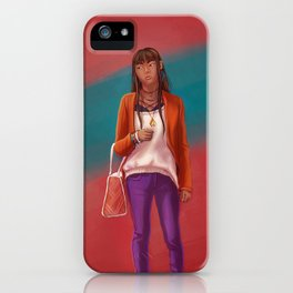 Leela iPhone Case