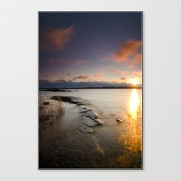 Monument Morning Canvas Print