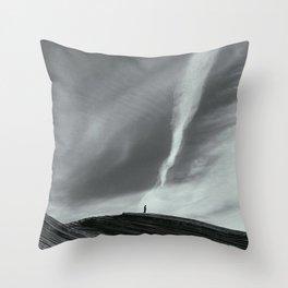 Snow Canyon Throw Pillow