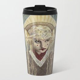 Queen Metal Travel Mug