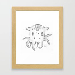 Dumbo Octopus Framed Art Print