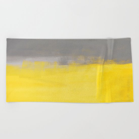 A Simple Abstract Beach Towel