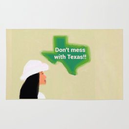 Don't Mess With Texas 1 Rug