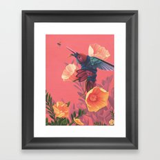 Pollinators II Framed Art Print
