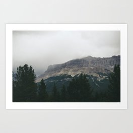Above the Tree Line pt2 Art Print