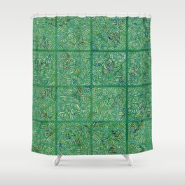 Tropical Hallucinations Shower Curtain