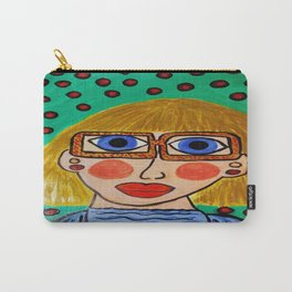 """The Day Muriel Learned It Was Best Just To Be Herself"" Carry-All Pouch"