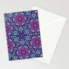 Pink Daisy Mandala Stationery Cards