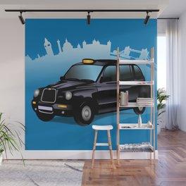 Taxi! Wall Mural