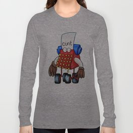Cunty Typewriter Long Sleeve T-shirt