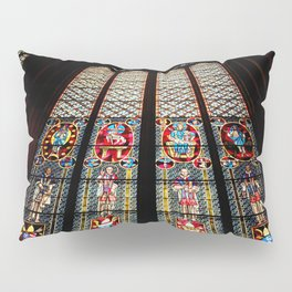 Cathedral Window Pillow Sham