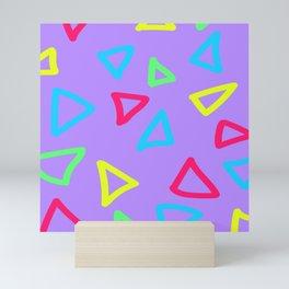 Neon Nachos Mini Art Print