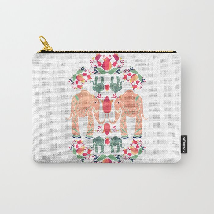 The Elephant Garden Carry-All Pouch