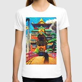 Colorful No face T-shirt