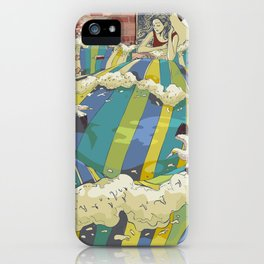 The Losing Wall iPhone Case