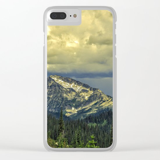 A Storm Is Coming Clear iPhone Case