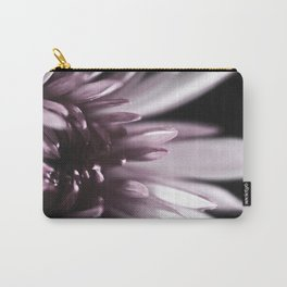 Macro Flower, Pink Dahlia Carry-All Pouch