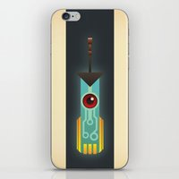 transistor iPhone & iPod Skins featuring The Transistor by Liam Ball