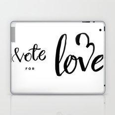 Vote for Love Laptop & iPad Skin