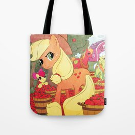 Applejack and Family Tote Bag