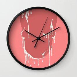 Calavera se derrite. Wall Clock
