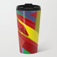 3d Travel Mugs featuring 3D by John VanHouten