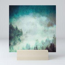 Galaxy Forest Mini Art Print