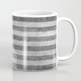 Stars and Sripes in retro style grayscale Coffee Mug