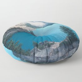 Canadian Serenity: Moraine Lake Floor Pillow