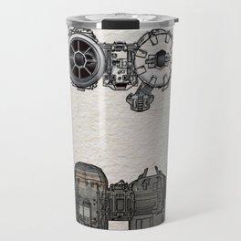 Tie Bomber color Patent Travel Mug