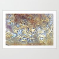 metallic Art Prints featuring METALLIC by Brittany Chase Creations