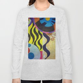 Abstrat composition 416 Long Sleeve T-shirt