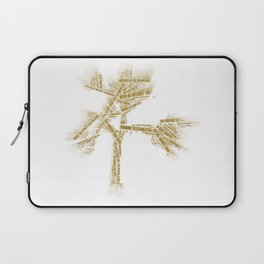 u2's Joshua Tree Tracklist Laptop Sleeve