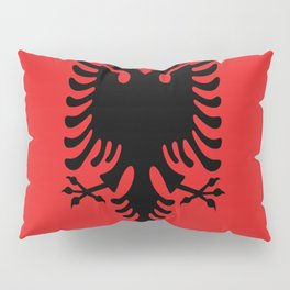 Flag Of Albania Pillow Sham