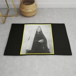 Billard Perrin - Portrait of Bernadette Soubirous 2 Rug